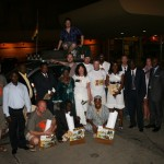 Gruppenbild mit der Delegation