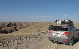 In die Wüste Namibias