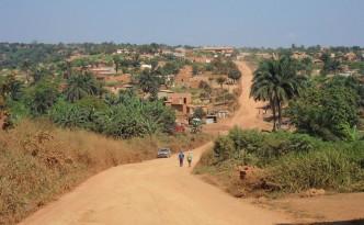 Piste in Angola