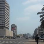 Boulevard in Kinshasa