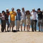 Das Team an der Küste