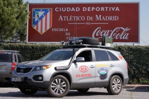 Besuch bei Atletico Madrid