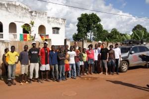 Fußballschule in Yaounde
