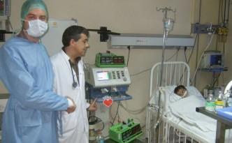 In der Kinderklinik
