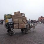 ...schauen wir uns Marrakesch an...