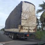 LKWs ohne Höhenbeschränkung