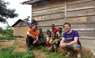 An der Grenze zum Kongo