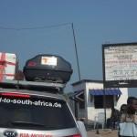 Auch im Kongo gibt es Straßenmaut