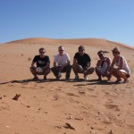 In der Wüste geht es uns gut