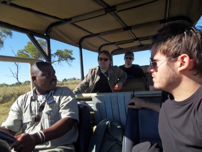 Tour mit einem der Guides