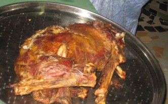 Ziege zum Abendessen