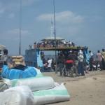Fähre über den Kongo